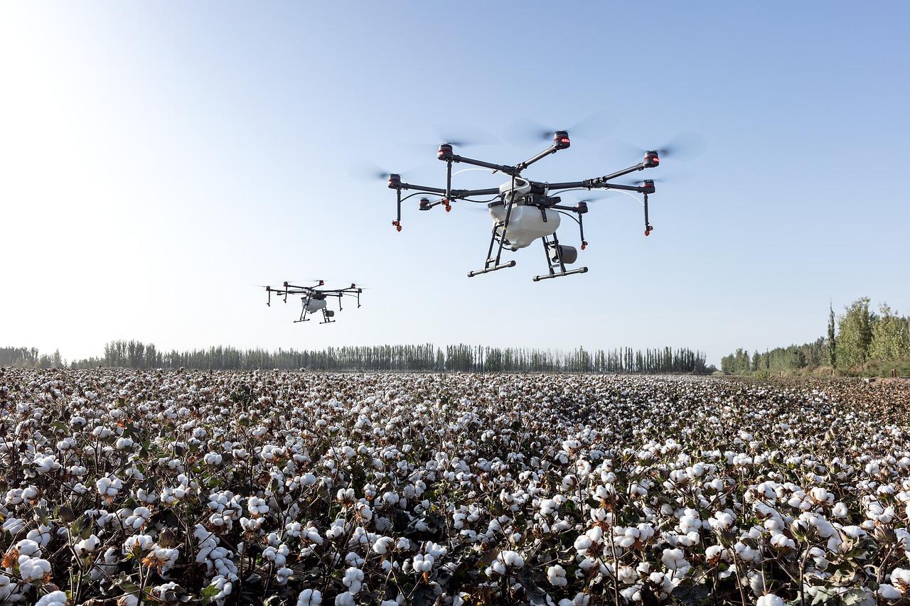 Drones no campo