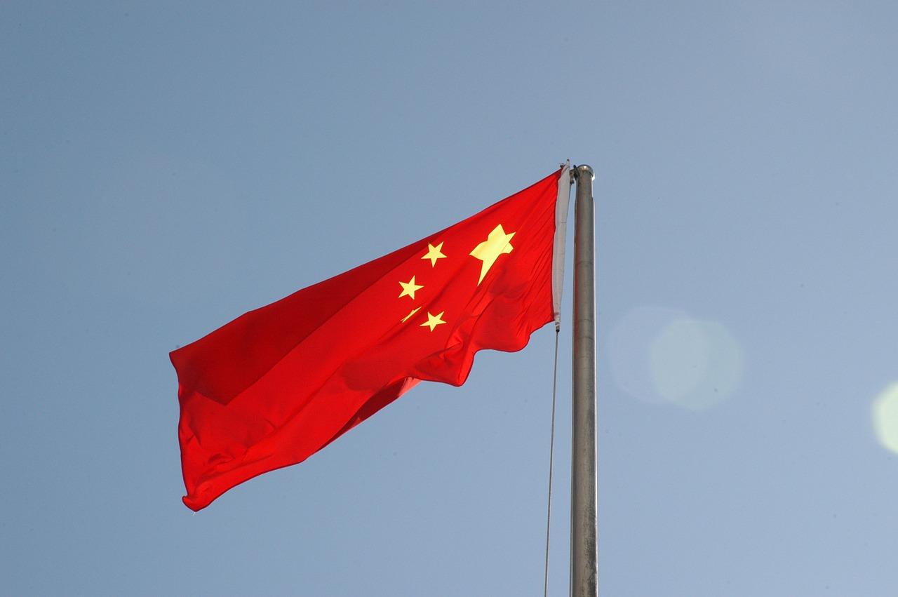 China - bandeira