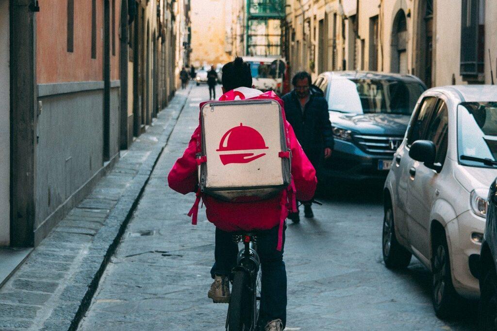Entrega - bicicleta