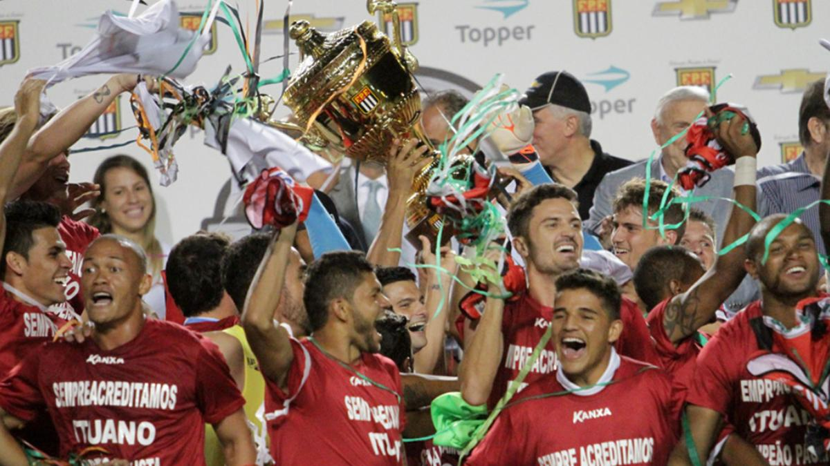 Ituano campeão de 2014: última das zebras do Paulistão