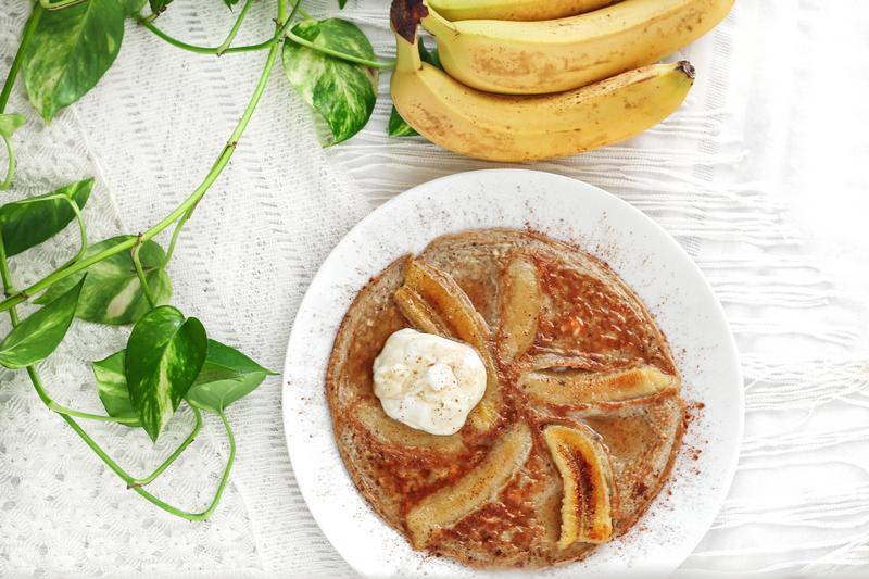 Imagem mostra Receitas de omelete de banana