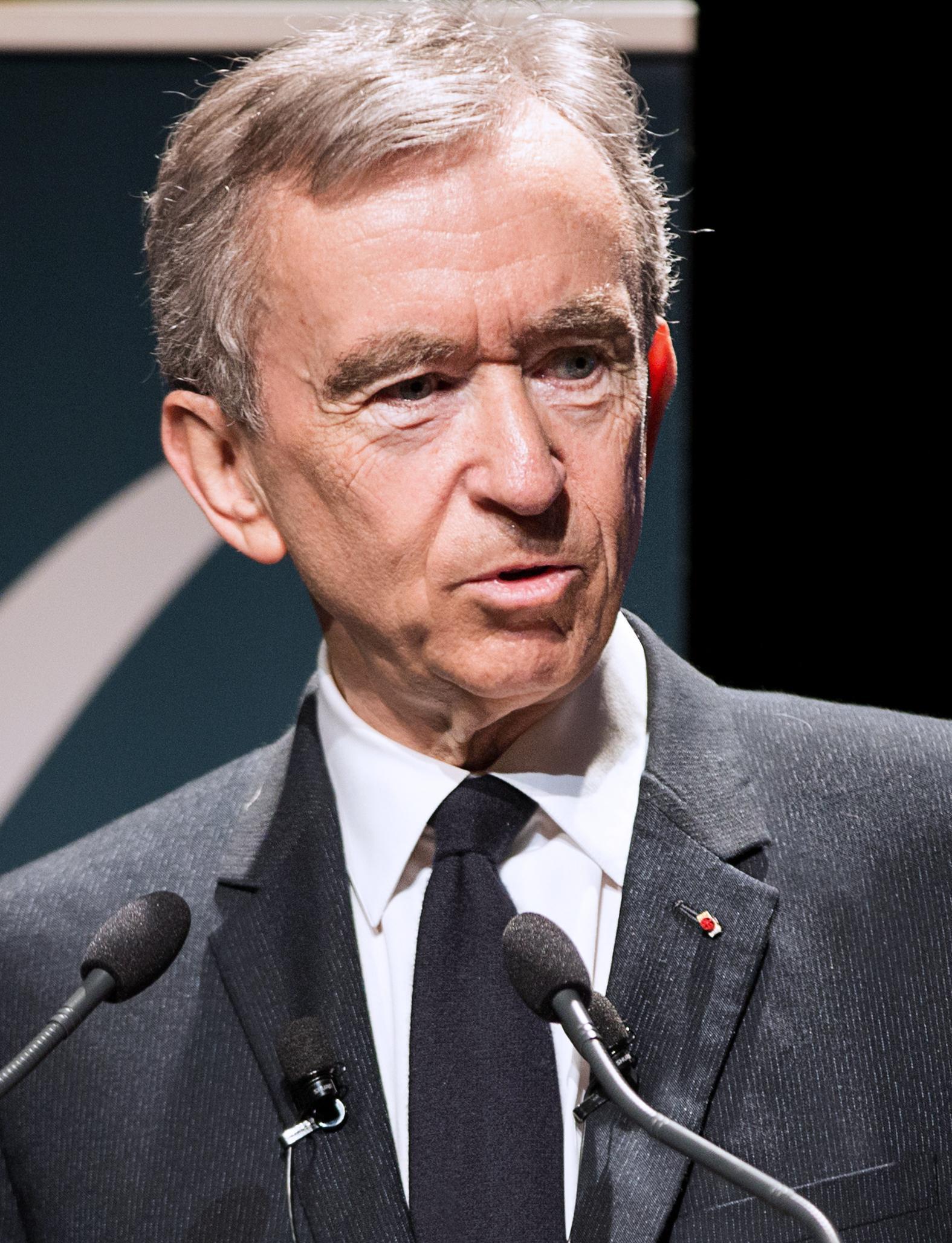 Bernard Arnault - o terceiro mais rico