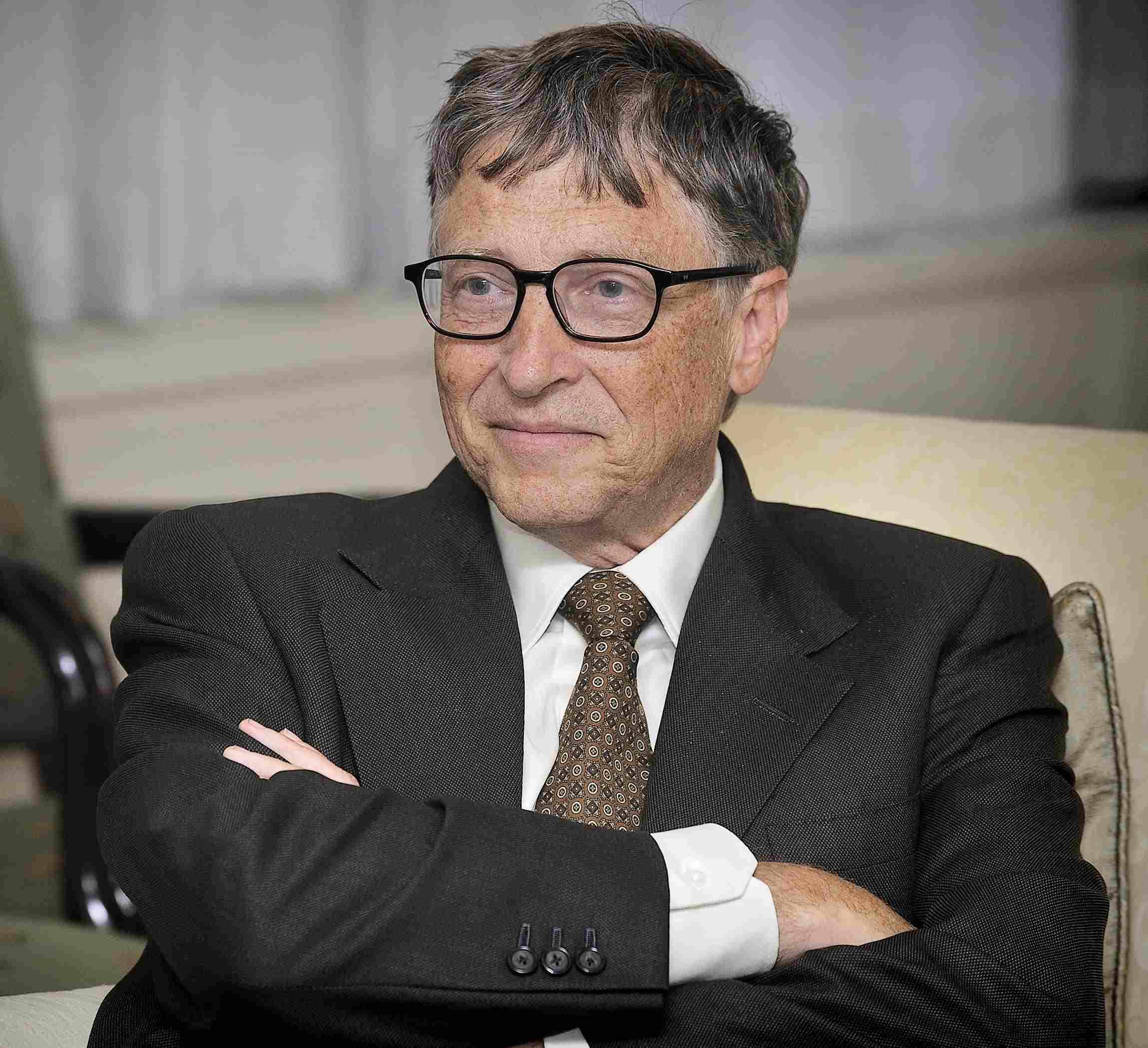 Bill Gades - segundo mais rico do mundo