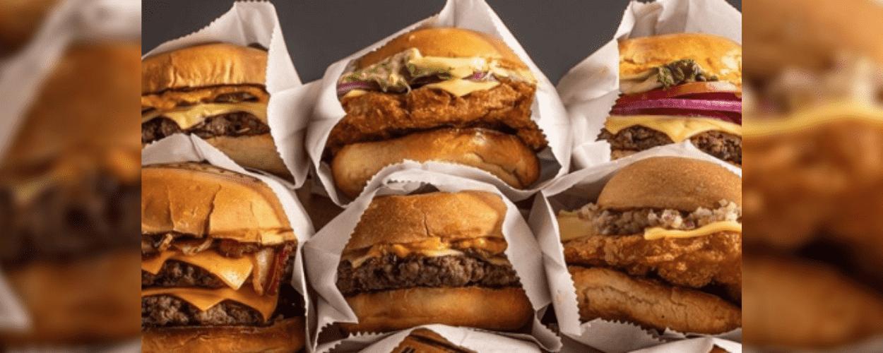 Variedade de hambúrgueres produzidos pela Bullguer, uma das maiores marcas de versões gourmet do prato.