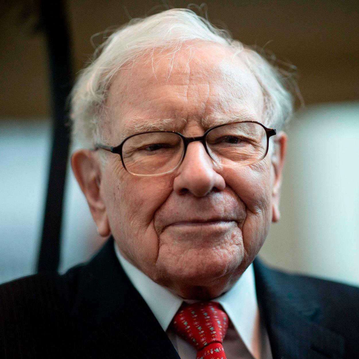 imagem do empresário Warren Buffett