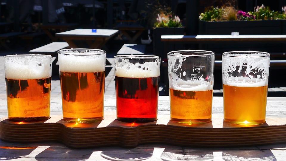 Imagem mostra cerveja artesanal