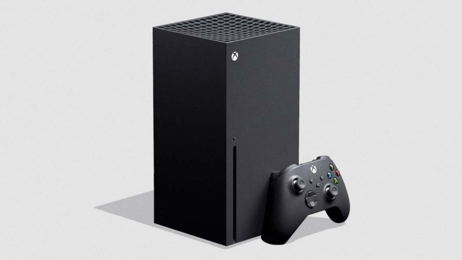 Imagem mostra o novo console do Xbox
