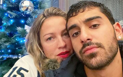 Imagem mostra luana piovanni e namorado em Casais famosos