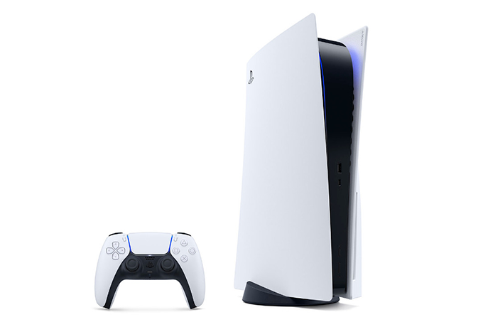 Imagem mostra o novo console Playstation 5