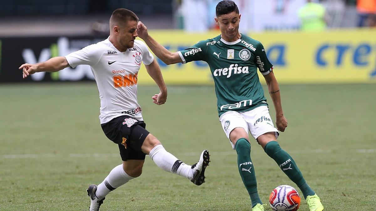 Corinthians e Palmeiras disputam clássico no Paulistão 2020