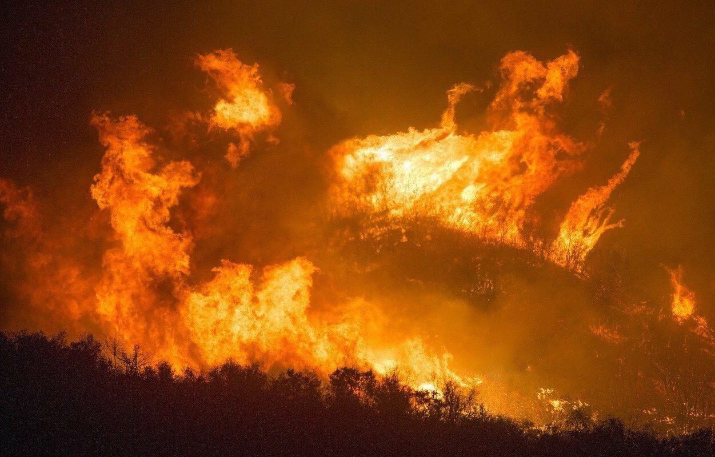 Incêndios florestais na Califórnia