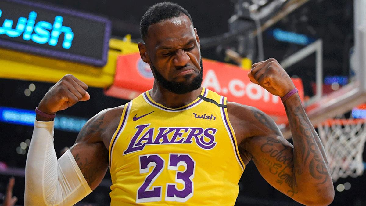 LeBron James nos Lakers: astro é destaque dos playoffs da NBA