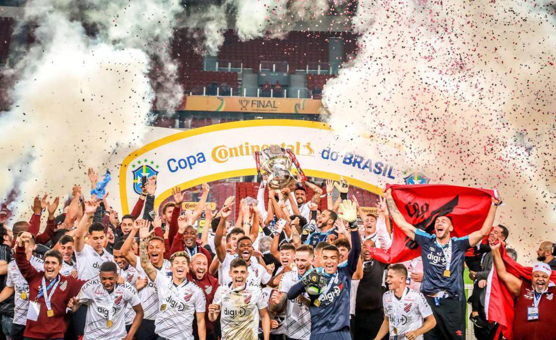 Athletico PR comemora título da Copa do Brasil 2019