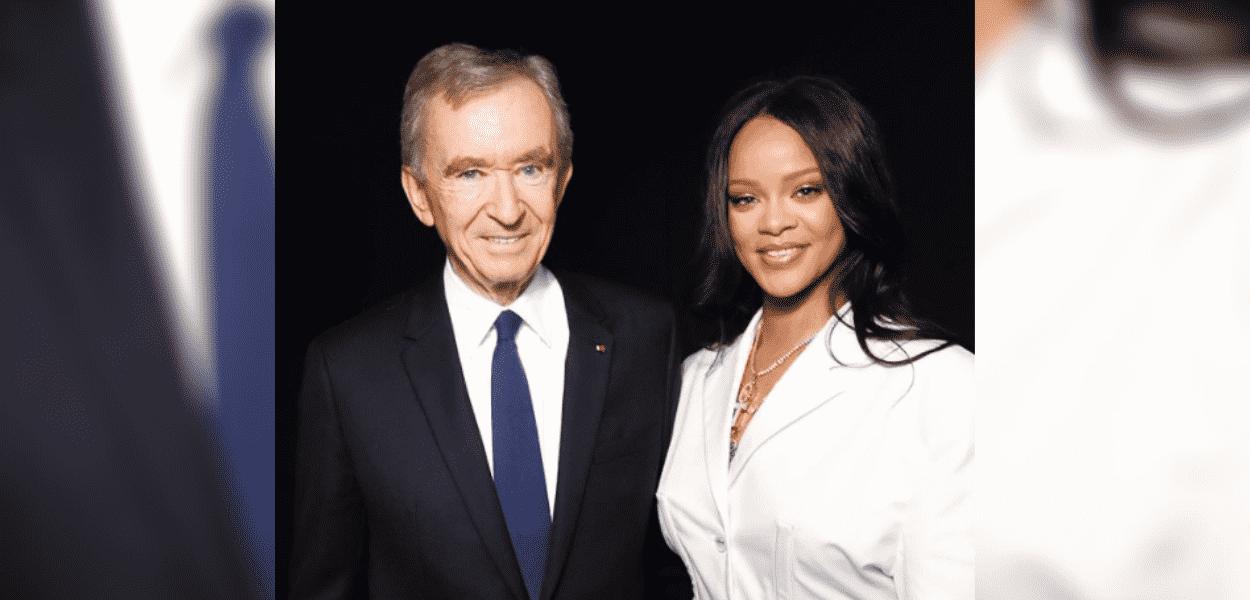 Rihanna e Bernard Arnault