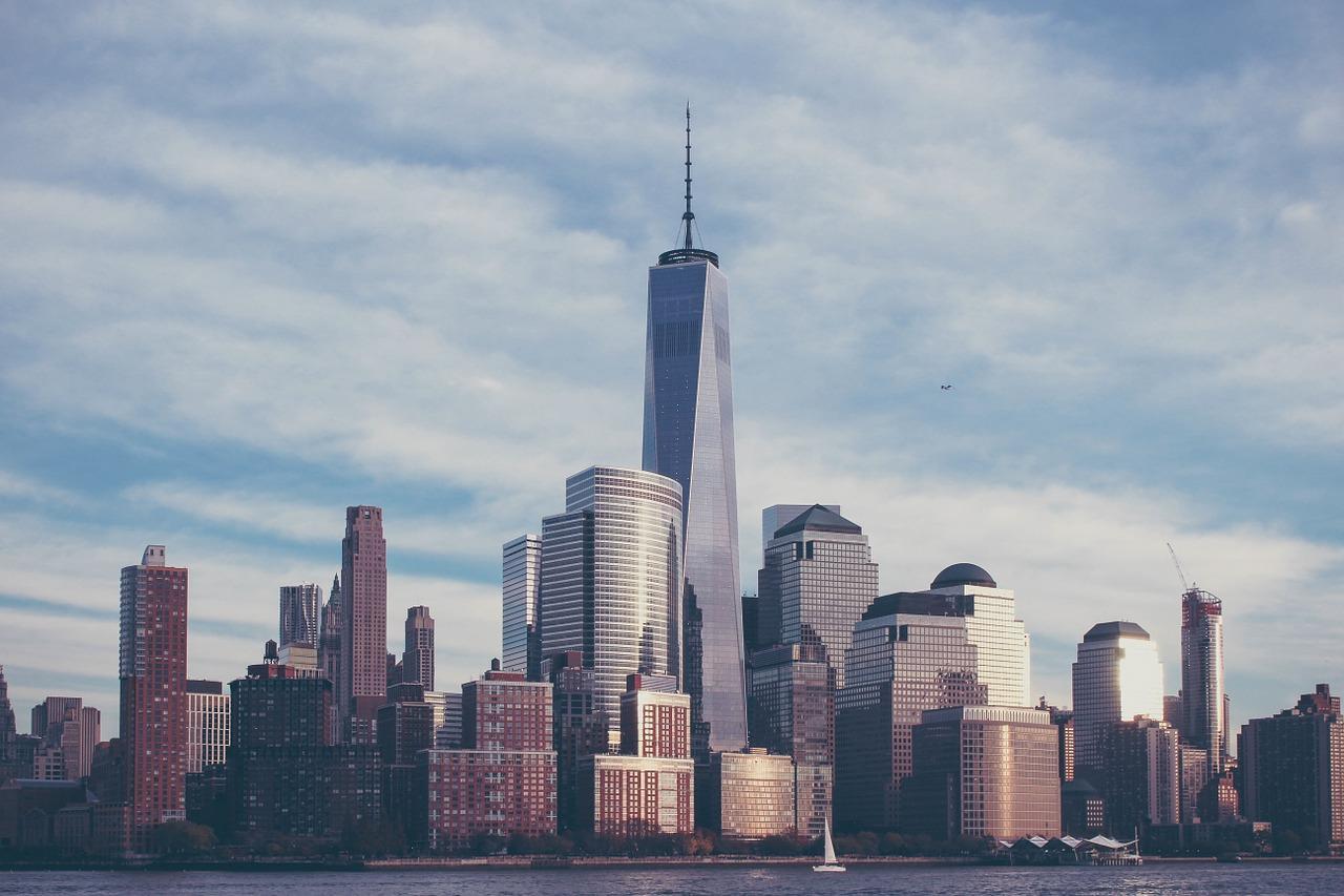 Foto panorâmica mostra a cidade de Nova York, que possui o maior número de bilionários do mundo