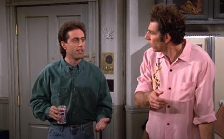 Cena de Seinfeld, uma das séries de comédia mais premiadas