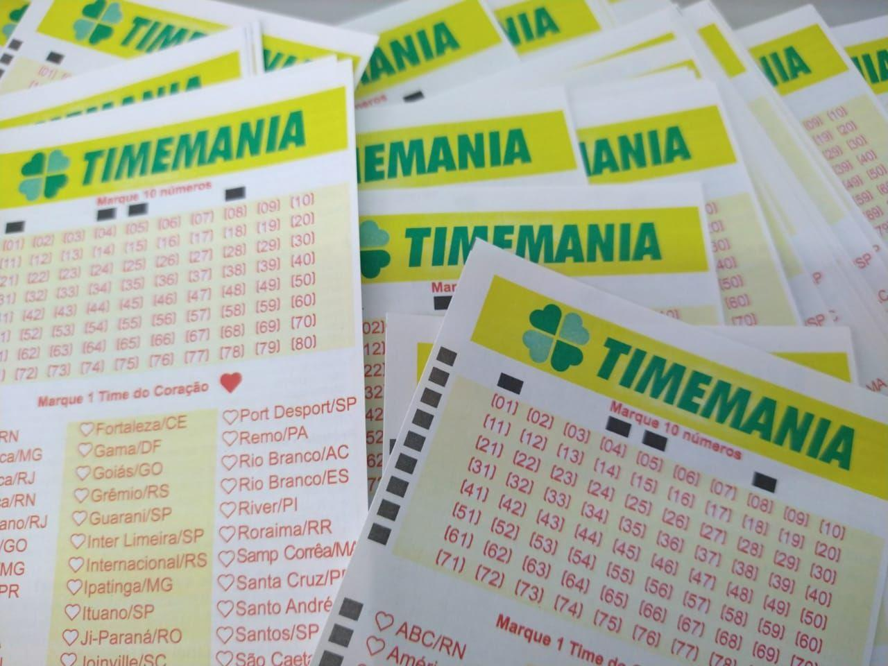 Timemania concurso 1523