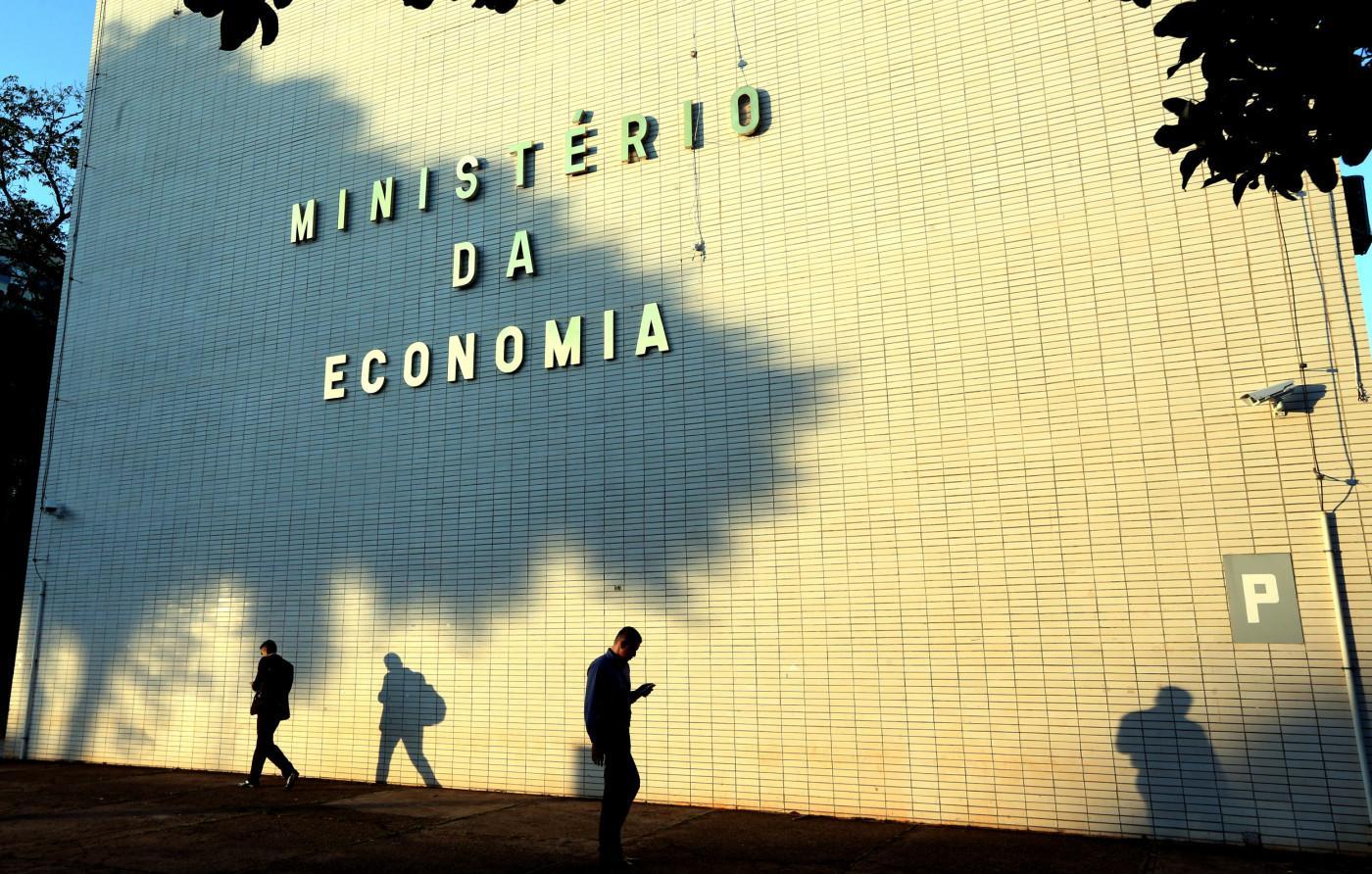 Foto mostra o prédio do ministério da economia
