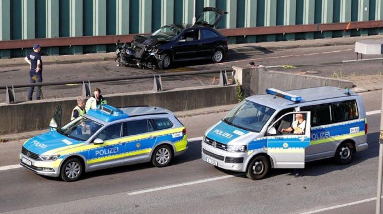 acidentes em Berlim