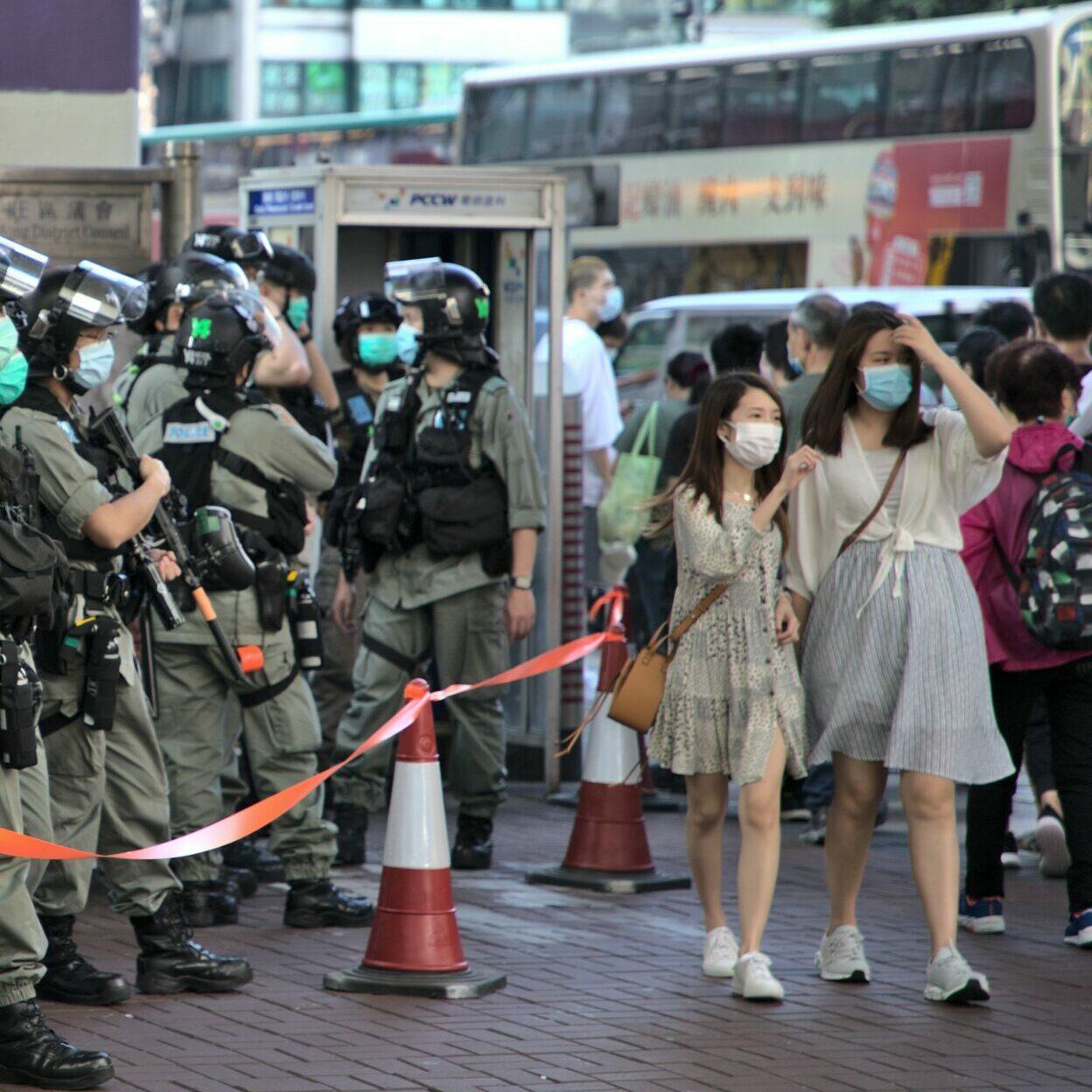 Jimmy Lai é preso em Hong Kong