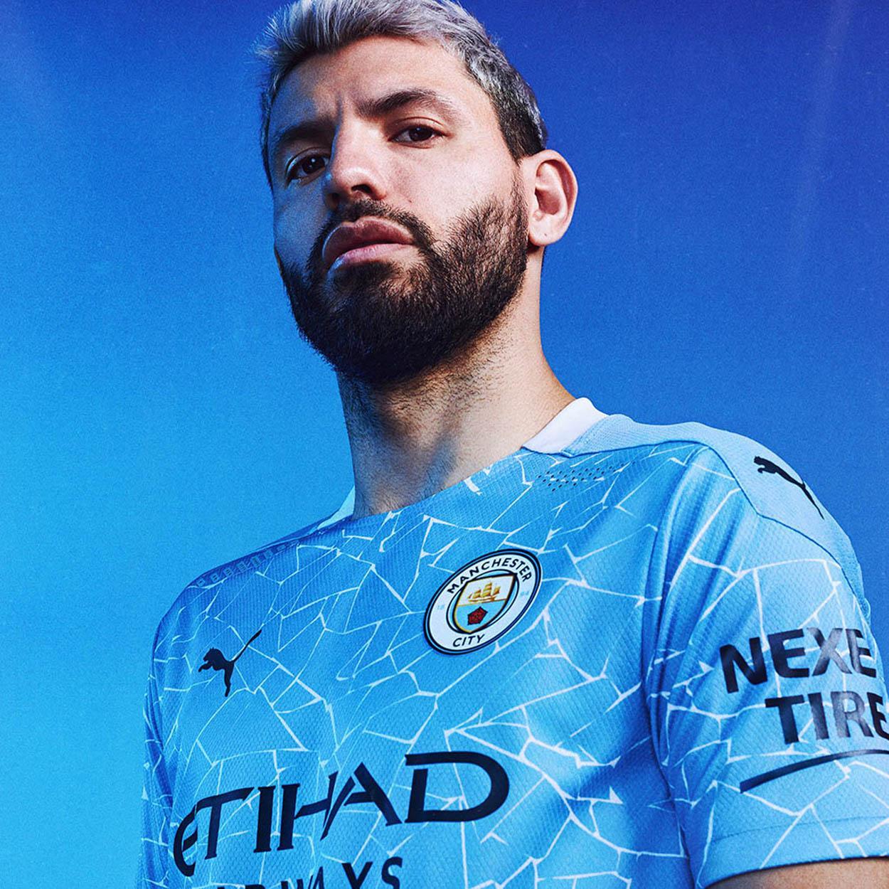 Novas camisas de futebol do Manchester City para 2020