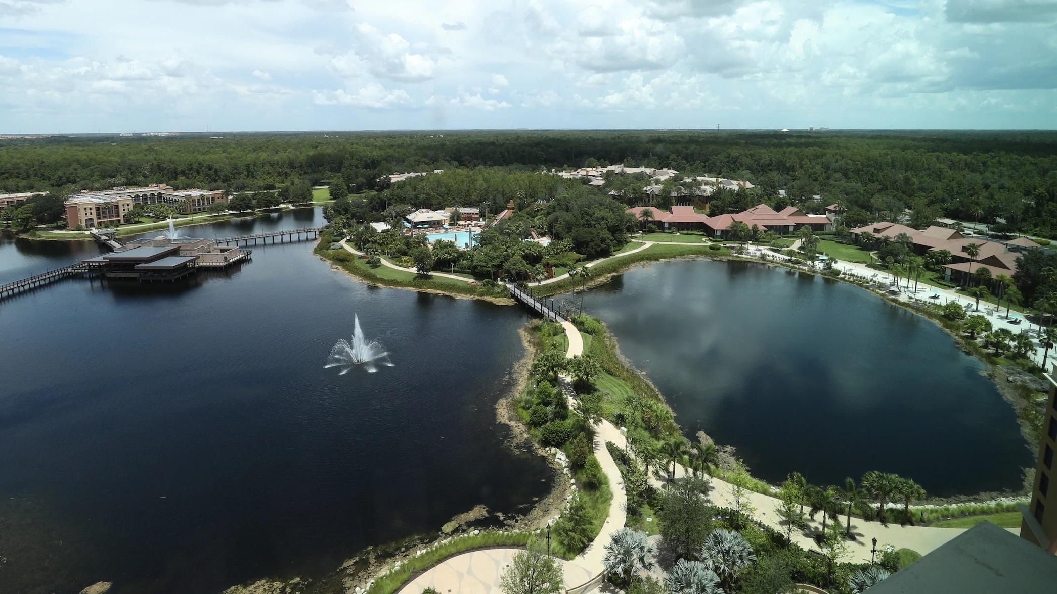 Complexo de resorts da Disney onde a NBA 2020 retomou seus jogos