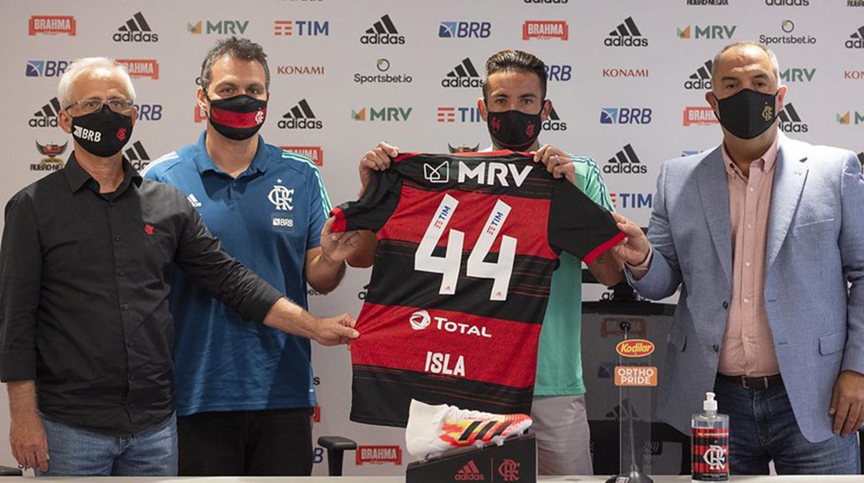 Mauricio Isla, reforço do Flamengo