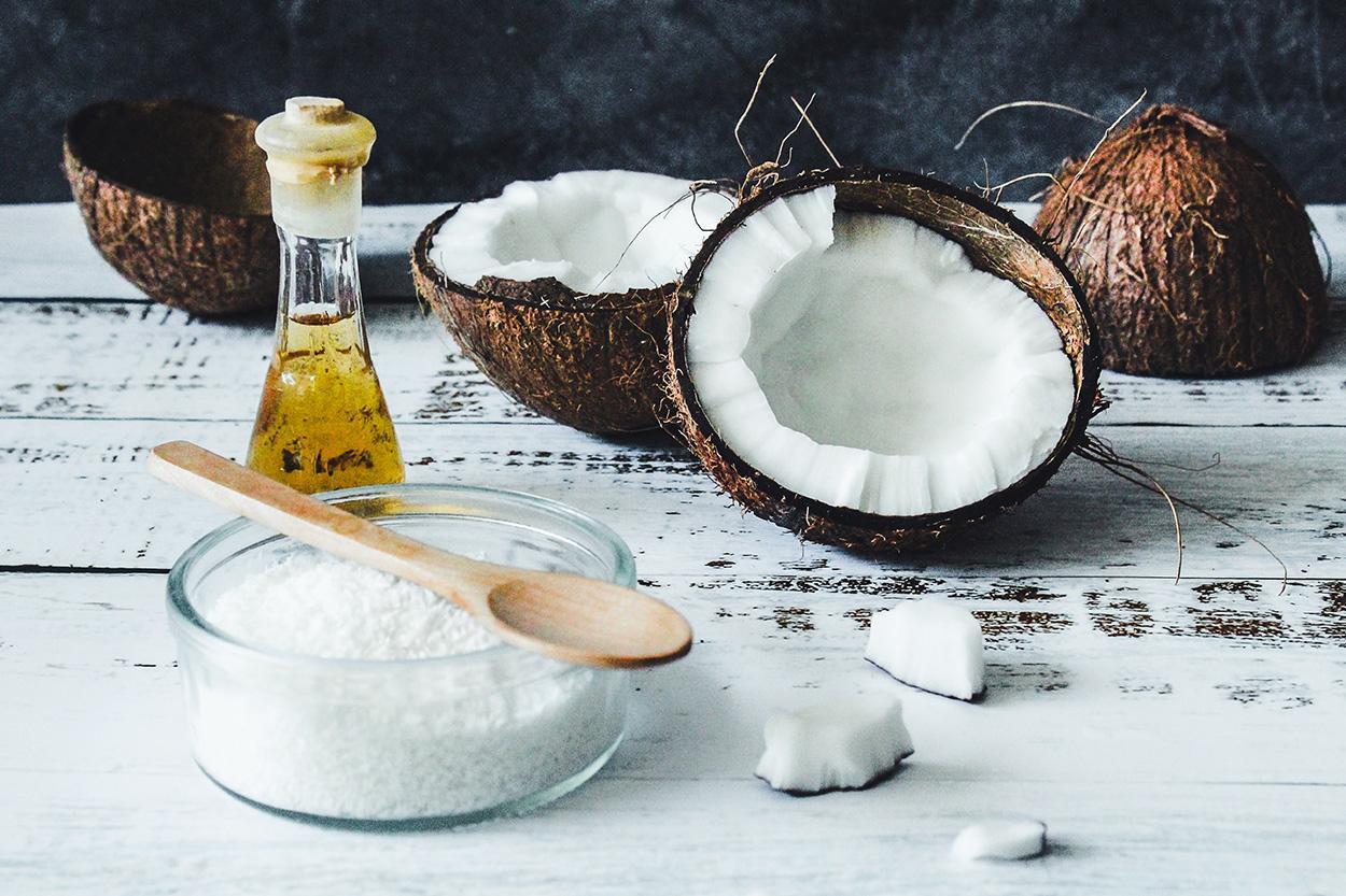 esfoliante natural com oleo de coco