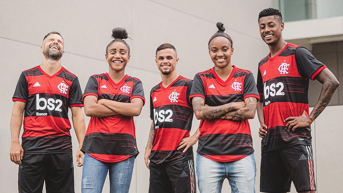 Novas camisas do Flamengo lançadas pela Adidas em 2020