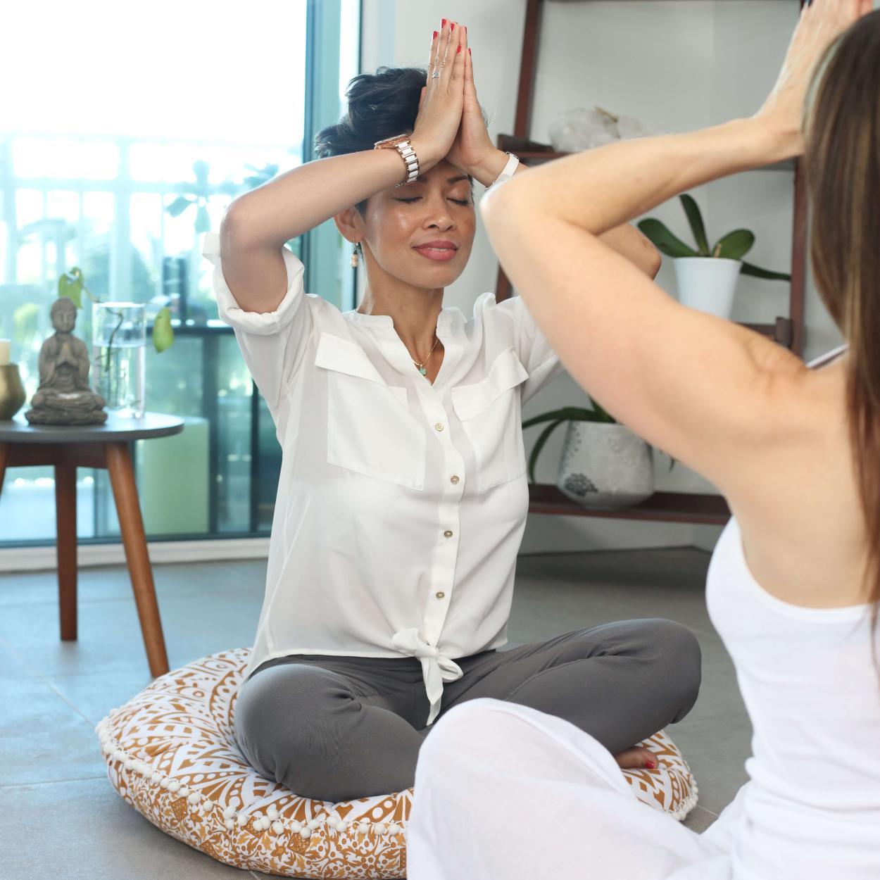 incenso natural ajuda na meditação
