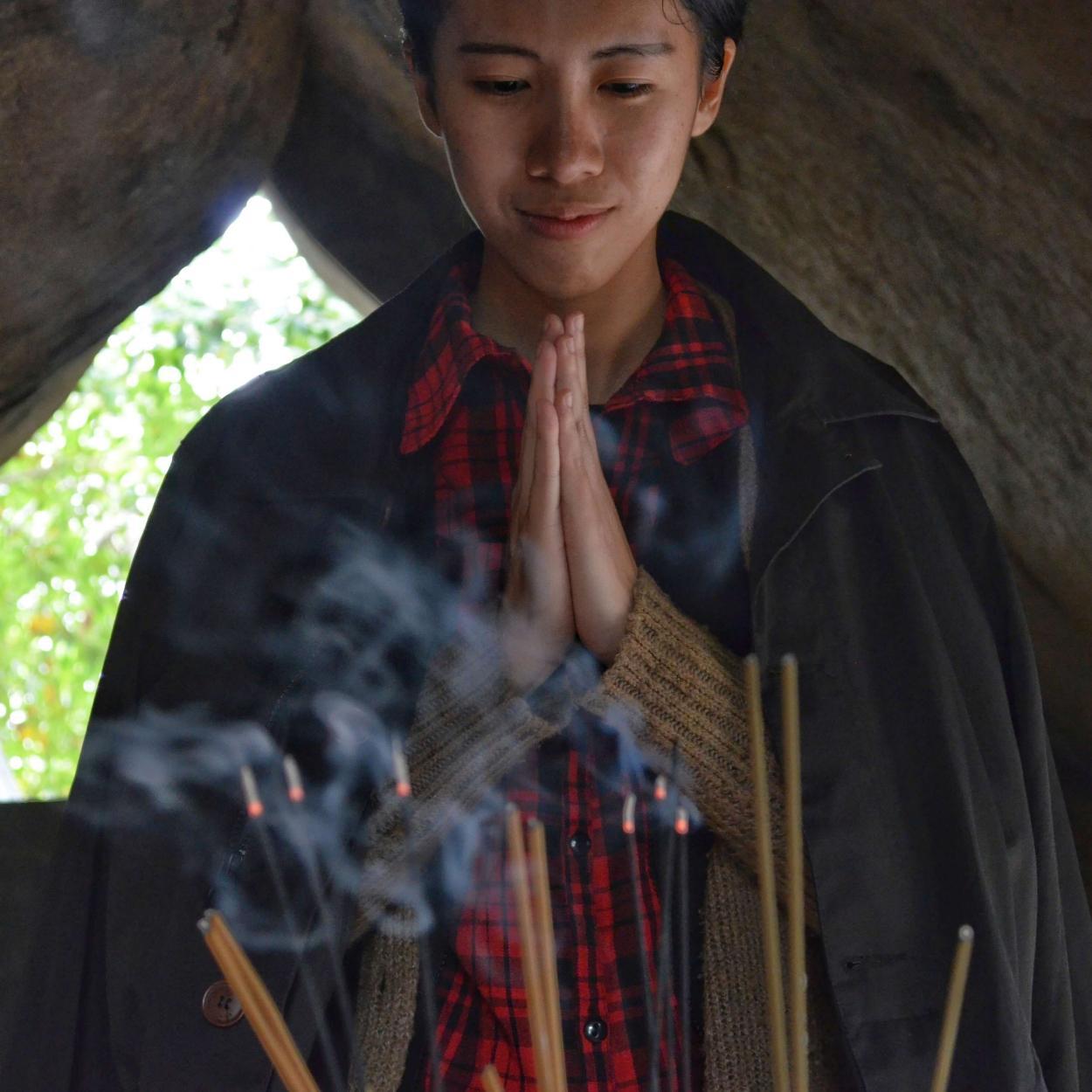 incenso natural para religião