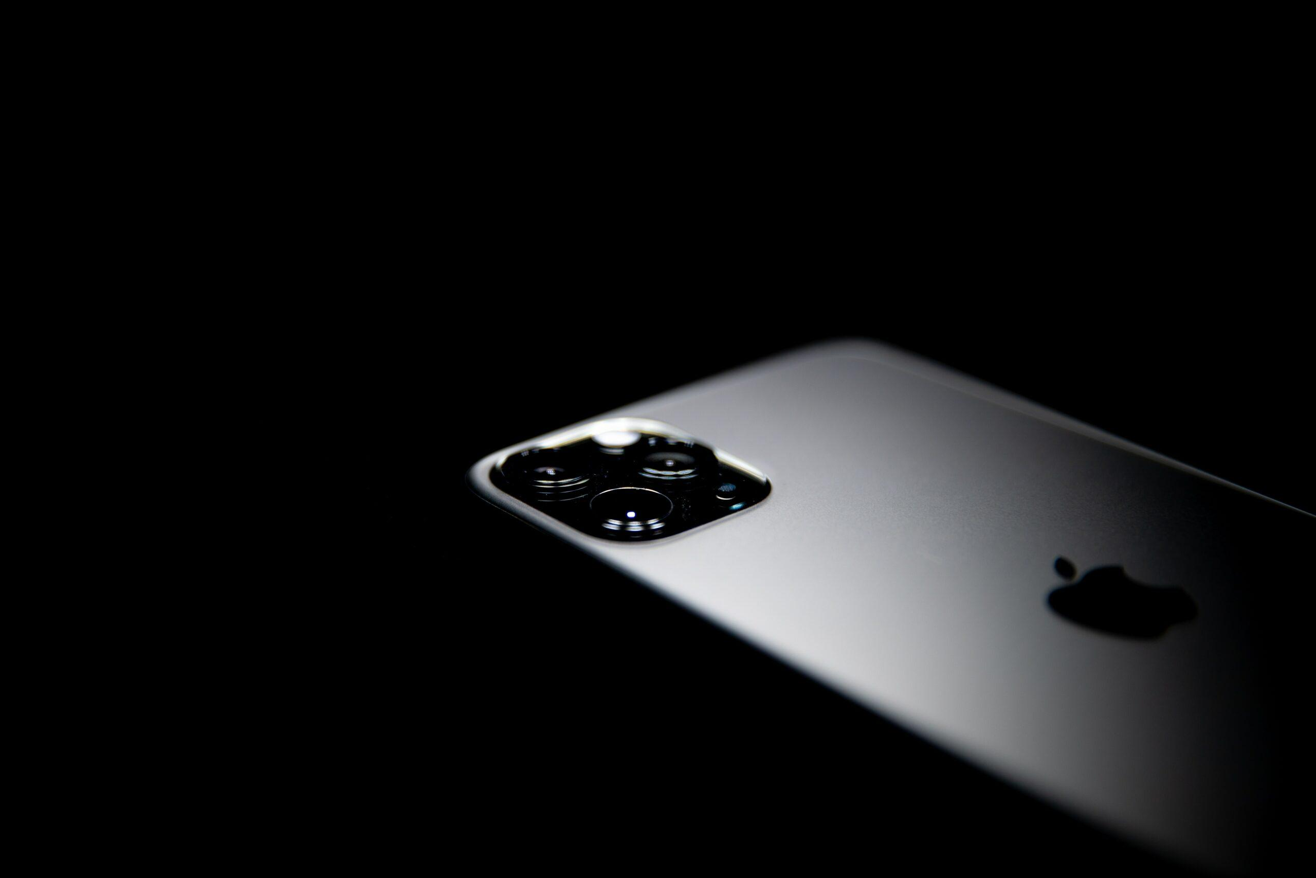 Imagem do iPhone 11 Pro Max, modelo preto