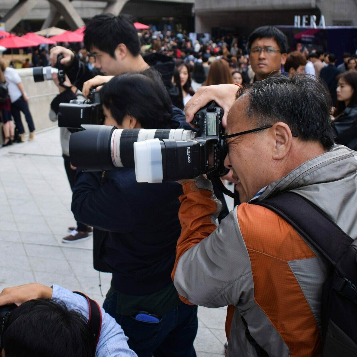 jornalistas chineses