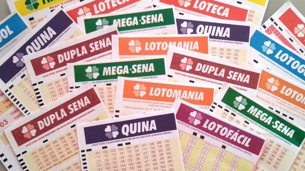 Loterias acumuladas - diversos volantes