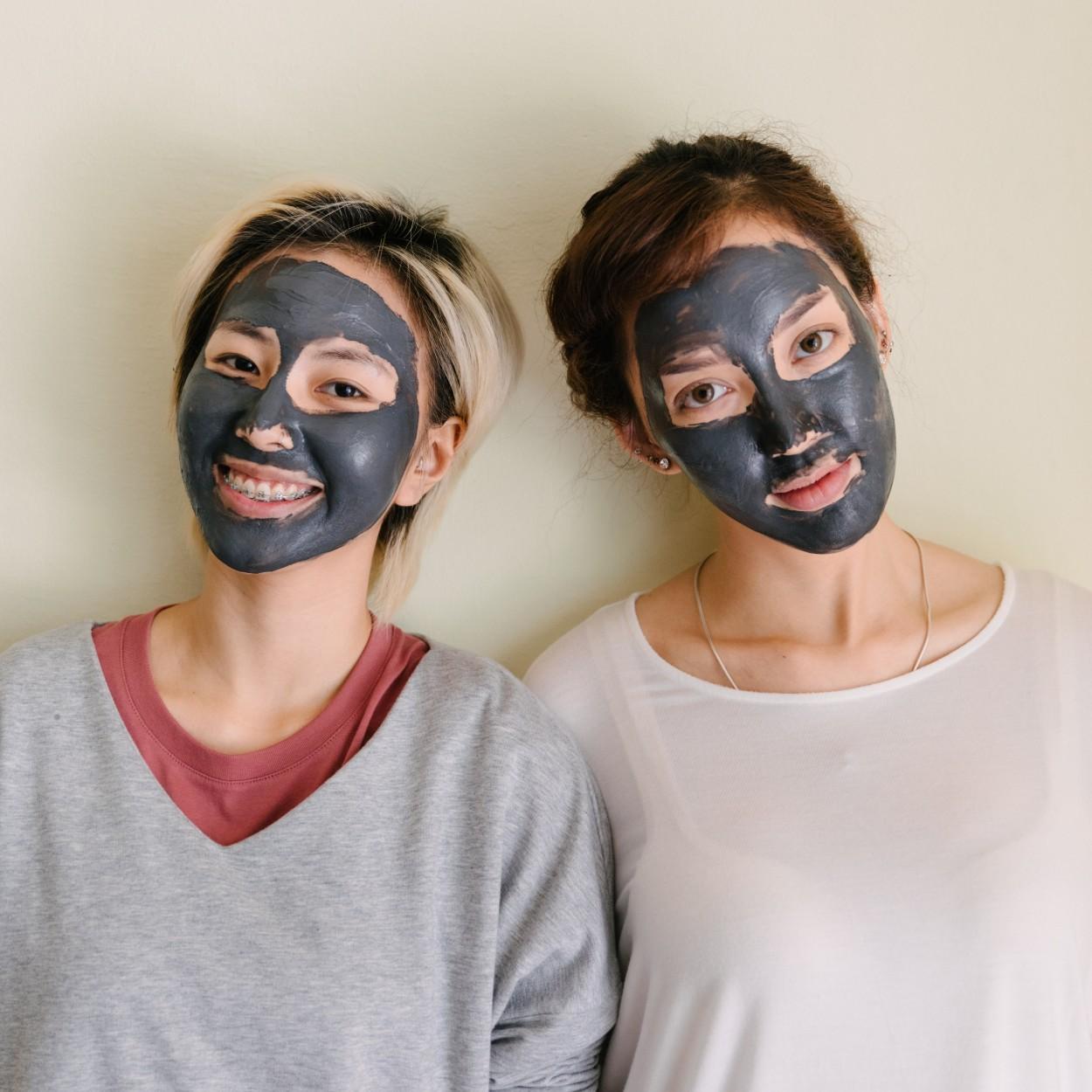 máscara de argila preta 2