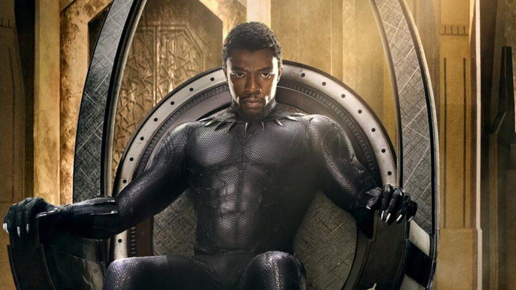 Filmes de Chadwick Boseman como Pantera Negra
