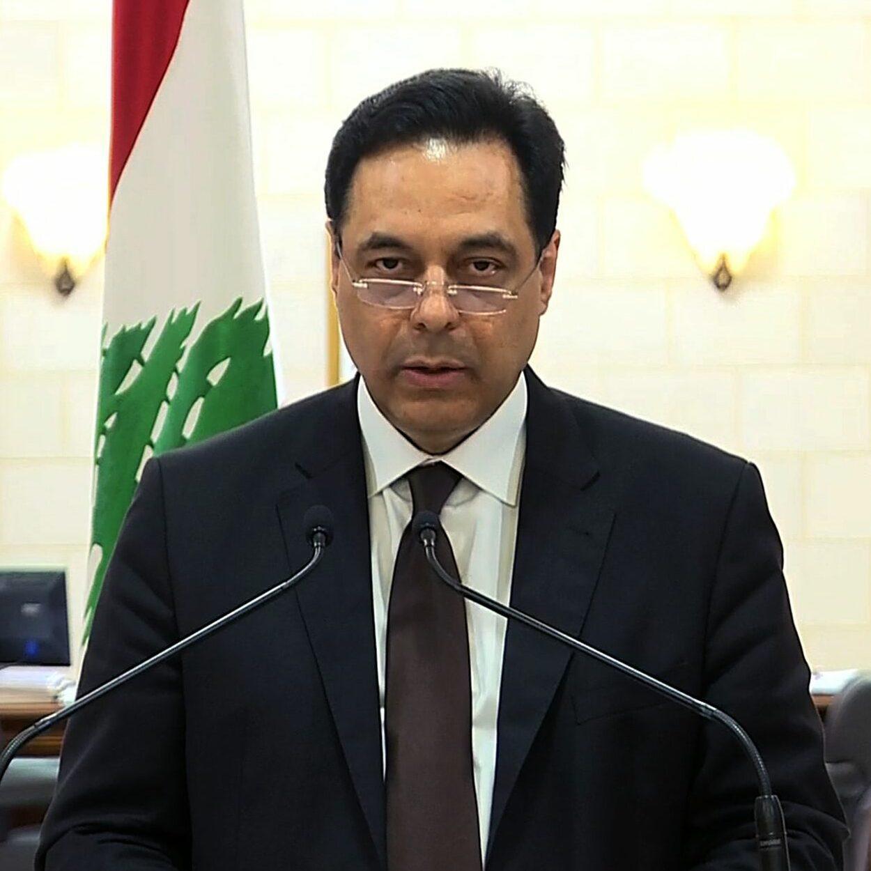 primeiro-ministro libanês anuncia renuncia