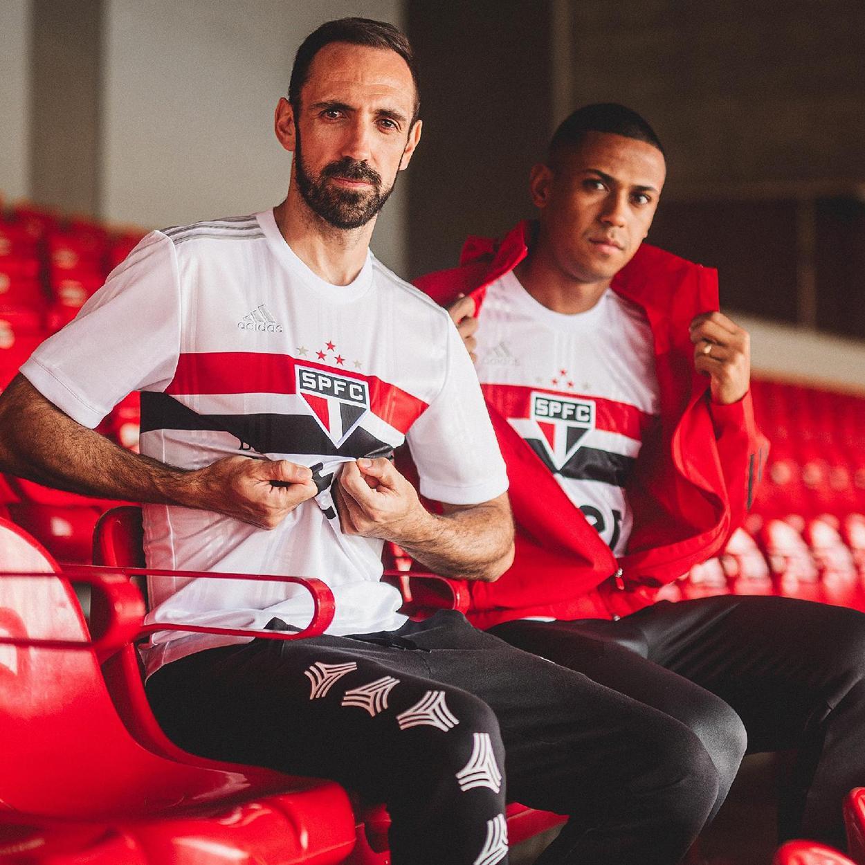 Novas camisas do São Paulo lançadas pela Adidas em 2020