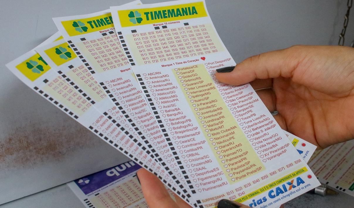Timemania concurso 1526