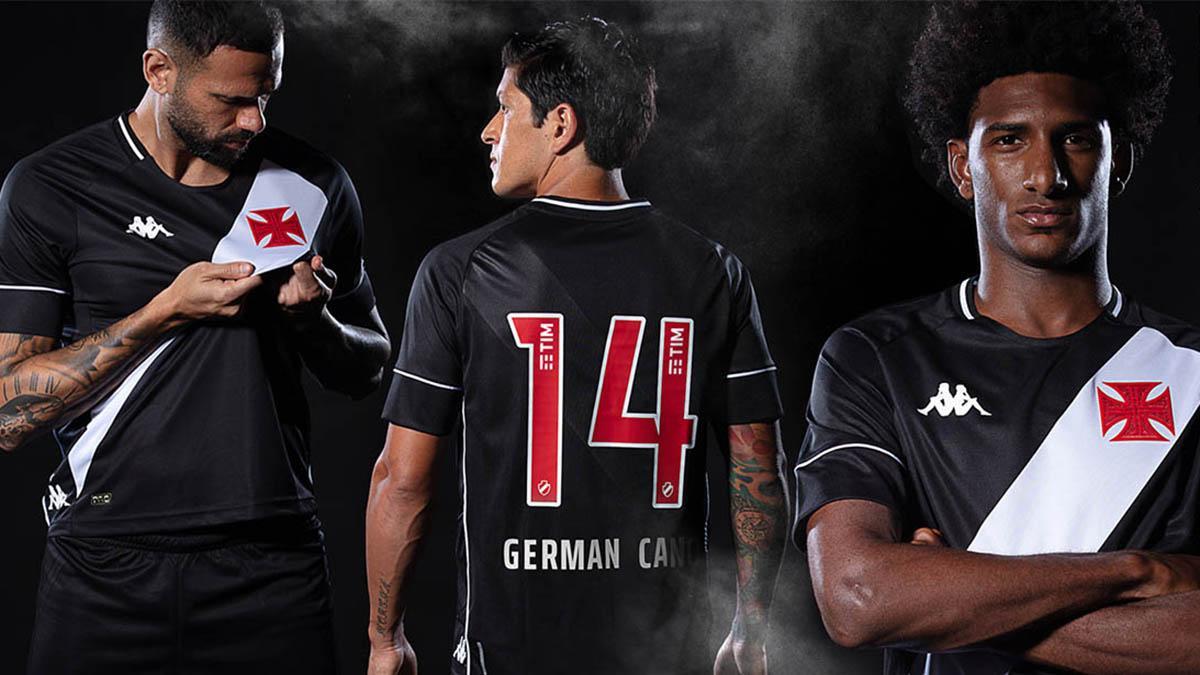Novas camisas de futebol do Vasco para 2020