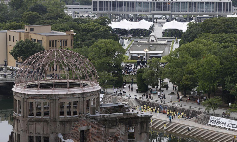 bomba em Hiroshima