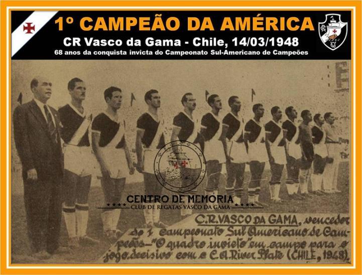 Vasco da Gama campeão em 1948