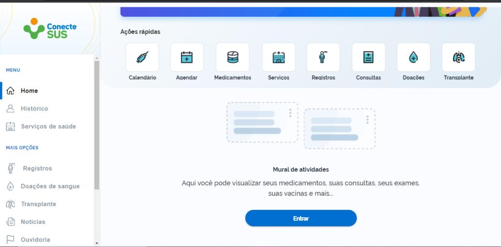 página inicial do portal DigiSus