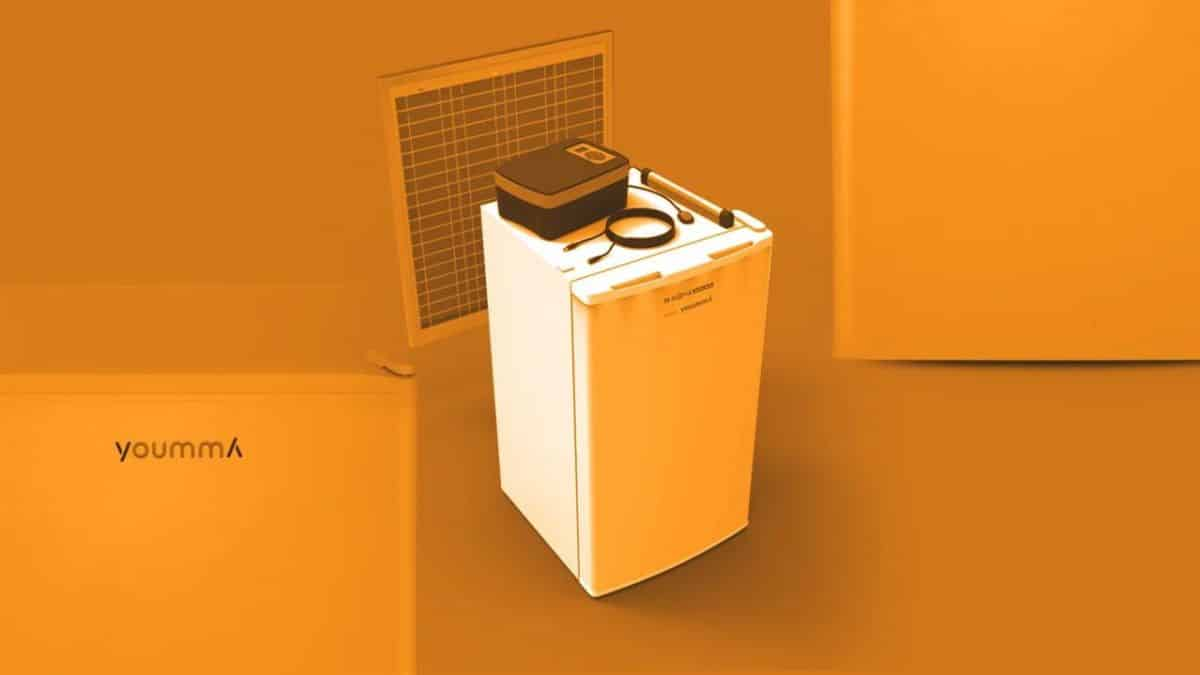 geladeira solar