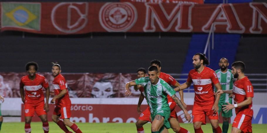 Juventude e CRB duelaram no Estádio Rei Pelé, em Maceió