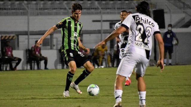 Jogo pela Copa do Brasil entre Ponte Preta x América MG