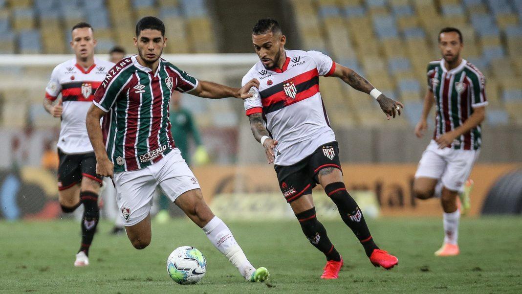 Fluminense venceu jogo de ida diante do Atlético GO por 1 a 0