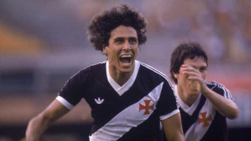 Roberto Dinamite lidera lista dos maiores artilheiros do Brasileirão