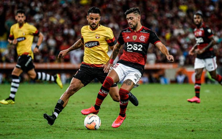 Flamengo joga contra o Barcelona de Guayaquil