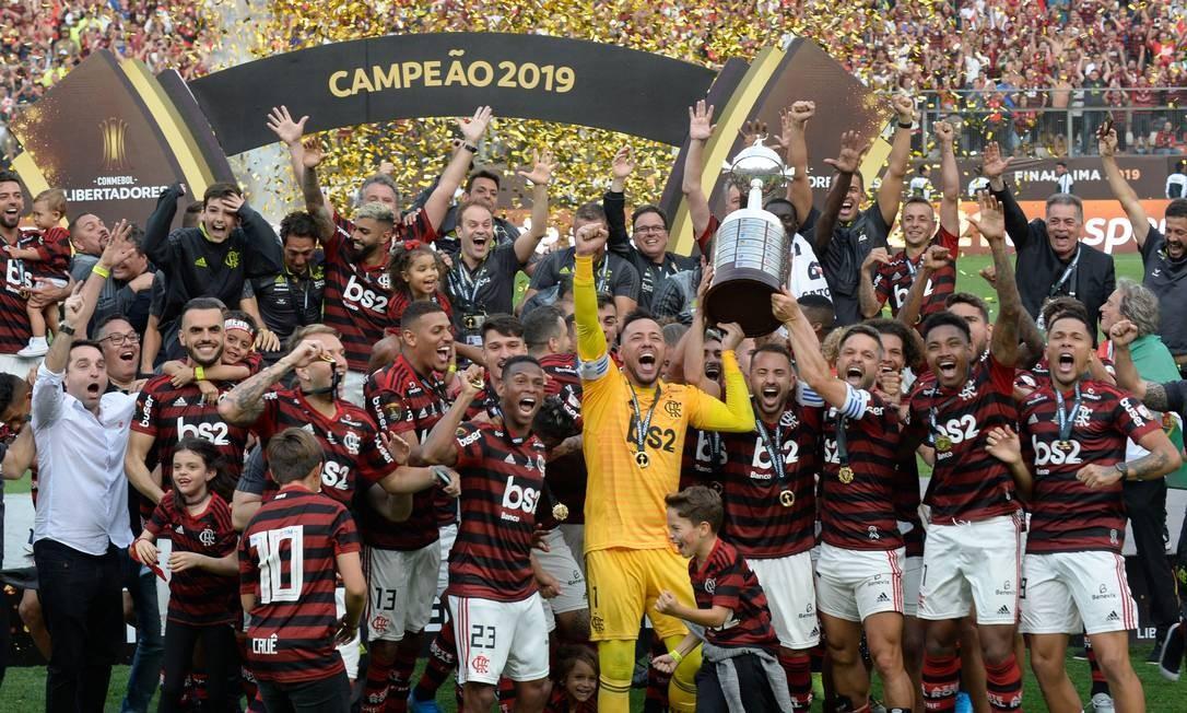 Flamengo é o atual campeão da Libertadores